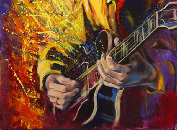Blues Shuffle Gitarre lernen